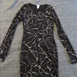 H&M Marbled Bodycon Dress